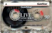 Кассеты магнитофонные производства Южной Кореи: Gold Star HD90